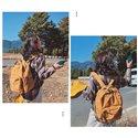 Mochilas de lona para ocio Bolsas para estudiantes universitarios Bolsas de viaje para hombres y mujeres Mochilas escolares de alta calidad