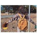 キャンバスレジャーバックパック大学生バッグ男性と女性旅行バッグ高品質のランドセル