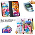 Binfen Color BF03 Vivid Flying Butterflies Pattern Zipper Multifunction Leather Phone Wallet Case Cover