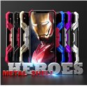 Heroes All Metal Bumper Kickstand Car Magnetic Phone Case