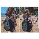 Canvas Leisure BackpacksCollege Students Bags Men and Women Travelling Bags Schoolbags of High Quality
