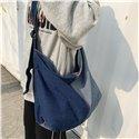 High Quality Large Size Jean Shoulder Crossbody Bags Fashion Denim Schoolbag Women Bags Ladies Handbags Travelling Bags Shopping Bags