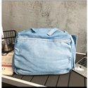 Women Jean Blue Shoulder Crossbody Bags Fashion Denim Schoolbag Shopping Bags Ladies Handbags Travelling Bags