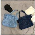 Large Size Jean Shoulder Crossbody Bags Fashion Denim Schoolbag Shopping Bags Women Bags Ladies Handbags Travelling Bags