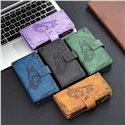 Binfen Color Flying Butterfly Zipper Multi-function Mobile Phone Leather Wallet Case