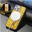 Python Pattern Magsafe Cell Phone Case Cover for iPhone 12, 12 Mini, 12 Pro, 12 Pro Max