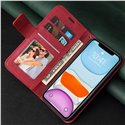 GQ.UTROBE Pendant Corner Leather Wallet Protective Case for iPhone X XR 11 12 Pro Max, Samsung S10, S20, S21 Plus Ultra