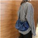 Fashion Denim Schoolbag Women Bags Ladies Handbags Large Size Jean Shoulder Crossbody Bags