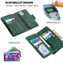 Binfen Color BF02 Zipper Multifunction Sensory Leather Phone Wallet Case Cover